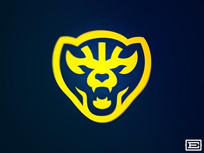 A Wolverine Concept. wolverine michigan illustration vector sports design sports logo identity sports identity branding sports branding sports logo