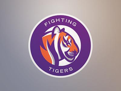 Tiger Roundel clemson tiger identity sports branding branding sports identity sports logo