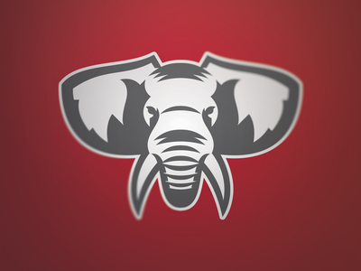 Elephant | 1 color logos elephant identity sports branding branding sports identity sports logo