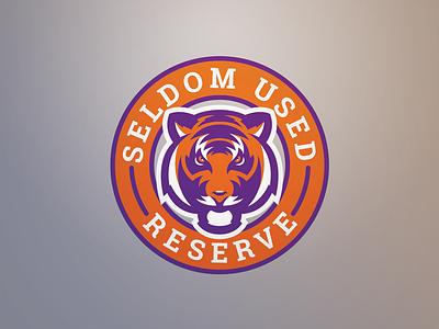 Seldom Used Reserve Logo clemson tiger identity sports branding branding sports identity sports logo