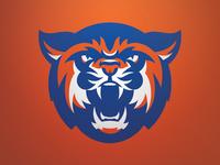 Louisiana College Wildcat Mascot