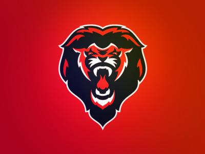 Great Britain Baseball Lion Logo sports design sportsbiz branding identity logo sports identity sports branding great britain lion sports logo