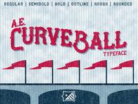 AE Curveball Typeface