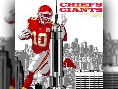 Chiefs @ New York Football Giants - Illustration