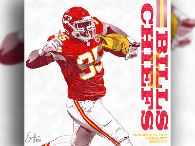 Chiefs vs Bills - Illustration chiefs kansas city chiefs sports branding sports logo sports design sports