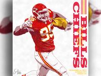 Chiefs vs Bills - Illustration
