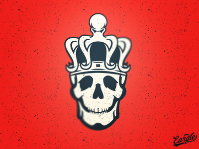 Good to be King identity sports identity kraken octopus crown skull logo branding sports branding sports design sports logo