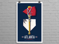 Atlanta Braves Art in the Park Poster Series