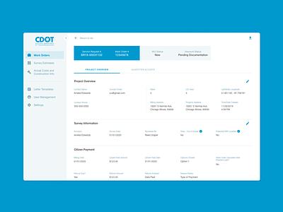 CDOT / CNECT Shared Cost Sidewalk branding designer product product design web design ux figma app sketch ui design
