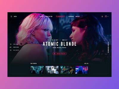 Movie Concept imdb tvshow explore dark watch cinema movie