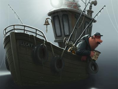 Fishing boat boat