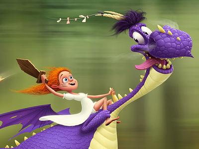 Dragons And Dragonriders cdchallenge character design digital art drawing draw artist art
