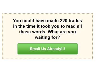 Email Us Already button green yellow box calltoaction