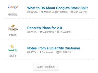 Company based news aggregation company news fool investing aggregation feed