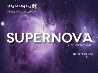 Supernova The Candy Bar chocolate bar candy bar