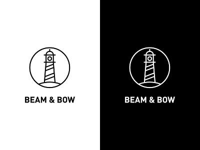 Dailylogochallenge #31 ocean logo sea logo light logo visual design logo ideas logotype minimal logo logo inspiration dailylogo dailylogochallenge beamandbowlogo beam and bow logo beam and bow beamandbow lighthouse logo lighthouse