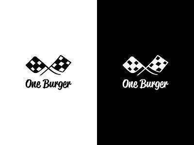 Dailylogochallenge #33 logo inspiration food logo restaurant logo burger place hamburger logo dailylogo obe burger one burger burger restaurant burger logotype ideas logotype logo ideas burger logo dailylogochallenge dailylogo