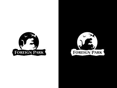 Dailylogochallenge #35 prehistoric national park logo national park museum museum logo dino logo dinosaur amusement park dinosaur logo foreign park logo inspiration logotype dailylogo dailylogochallenge dailylogodesign