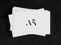 A5 brand identity stationary