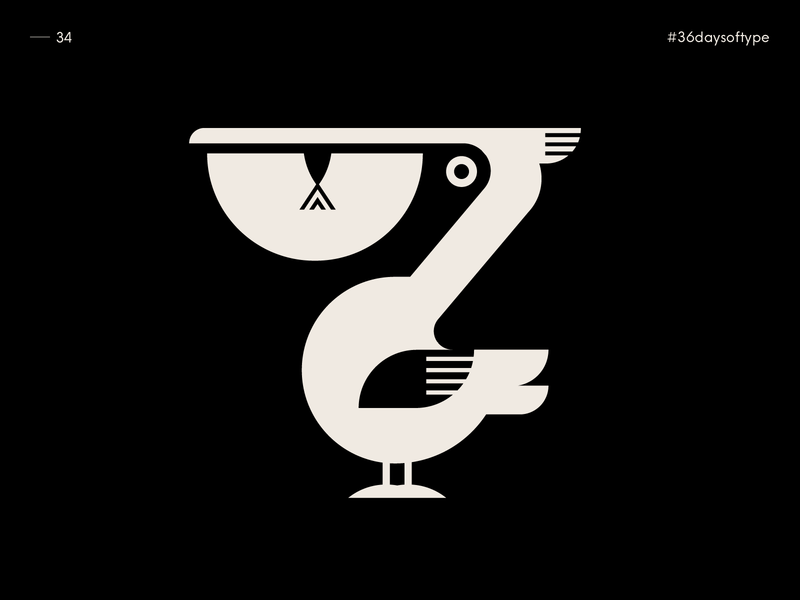 7 is the Pelican - 36 Days of Type 2020
