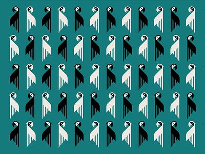 Parrots Wallpaper birds abstract logotype parrot wallpaper parrots vector illustration graphic design minimal johannlucchini