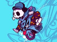 The panda driver