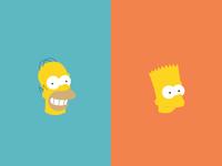 Homer & Bart 36/100