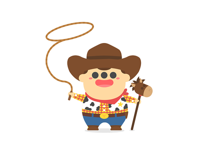 Toooy Story – Woody vector toystory drawing flat illustration