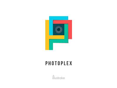 PhotoPlex Logo design symbol pplogo mark logotype logo letter icon dribbble blog