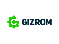 Logo design concept for GIZROM