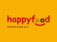 Happyfood Logo Concept Design
