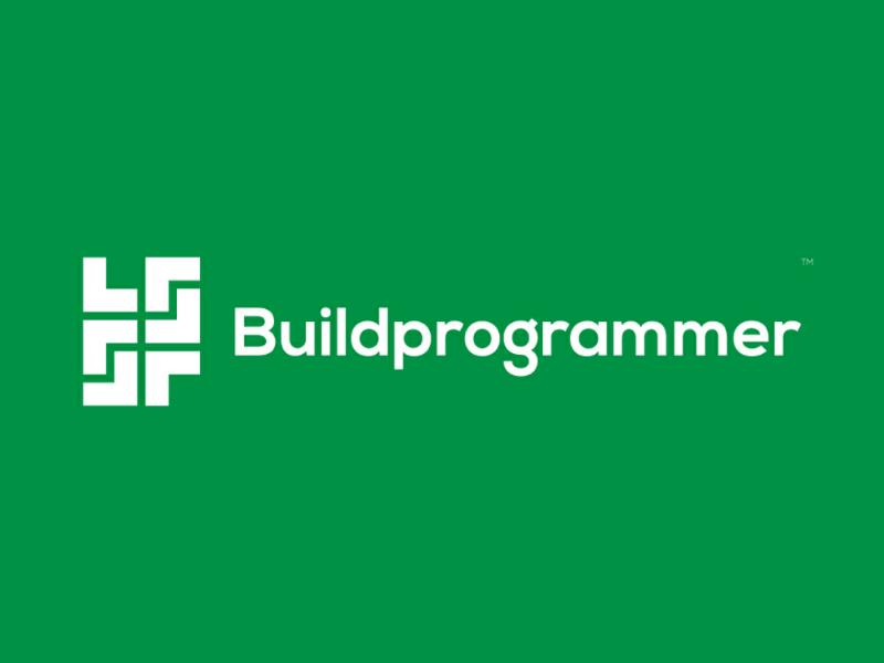 Buildprogrammer Logo Concept Design ❤️