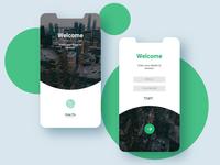 Login Page UI Design