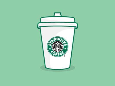 Starbucks Coffee Mockup adobe illustrator symbol letter logomark illustrator typography logotype branding logo illustration icon mockup design mockup
