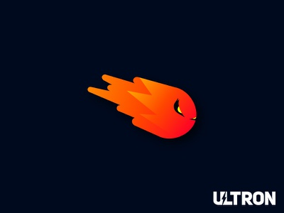 Ultron Character Mascot design dribbble logomark symbol illustrator mascot character typography logotype branding logo icon illustration