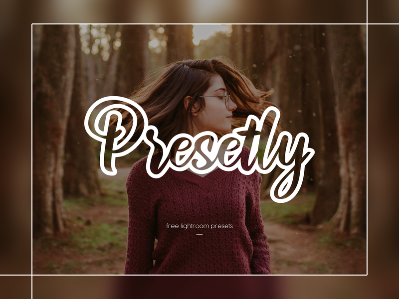 Presetly Logo Design letter illustrator logomark typography logotype branding icon logo illustration