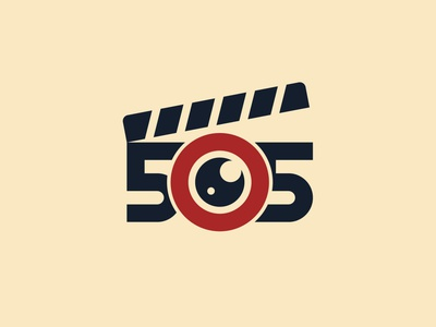 505 Films Logo Design symbol adobe illustrator logomark illustrator dribbble logotype branding icon logo illustration