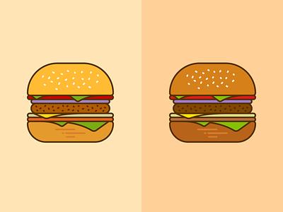 Burger Mockup mascot design illustrator symbol logotype dribbble branding logo icon illustration