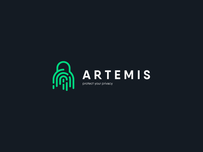 ARTEMIS LOGO DESIGN logomark illustrator typography symbol logotype dribbble branding logo icon illustration
