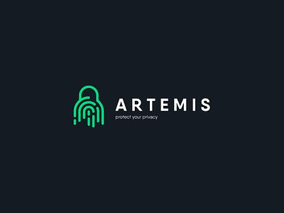 ARTEMIS LOGO DESIGN logomark illustrator typography symbol logotype dribbble branding logo icon illustration