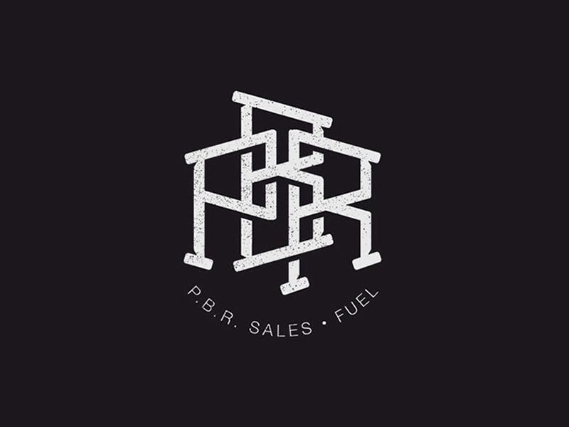 P.B.R logo