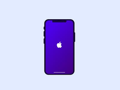 iPhone X Illustration iphone xr graphic design adobe illustrator dribbble creative design illustration illustrate iphone x iphone 10 iphone