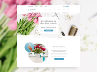 Daily Details Homepage Redesign