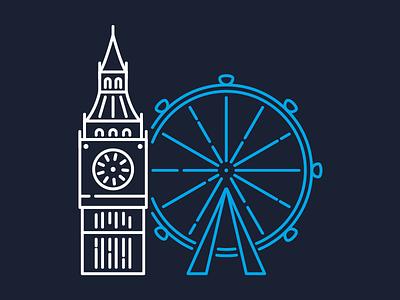 London Illustration uk clean minimal illustration minimal illustration london