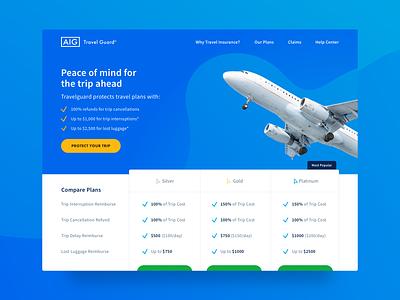 Landing Page web design ux pricing page landing pages ui landing page