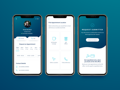 Scheduling Screens experience design aig xd mobile mobile app design mobile app sketch ux ui iphone xs ios