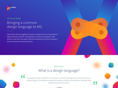Design Language - Case Study