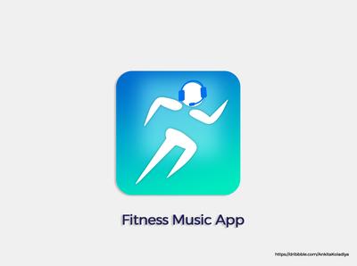 Fitness Music App Icon