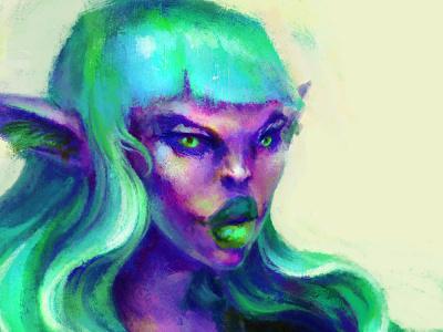Borna design concept art concept drawing fantasy painting illustration art