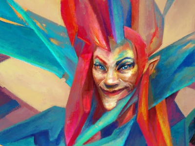Colorful Rando design concept art concept drawing fantasy painting illustration art